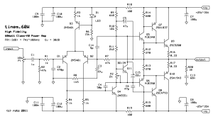 HiFi 60 Watt Power Amp Class-AB