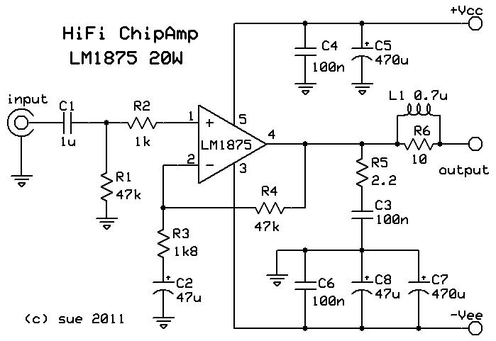 LM1875 HiFi Chip Amp   Not a Chances