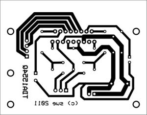 TDA1554Q PCB